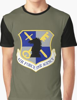 US Air Force Intelligence, Surveillance and Reconnaissance Agency (Historical) Graphic T-Shirt