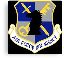 US Air Force Intelligence, Surveillance and Reconnaissance Agency (Historical) Canvas Print