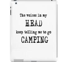Camping humour iPad Case/Skin