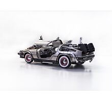 Delorean Back To The Future III Photographic Print
