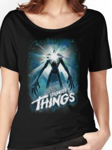 Stranger Things The Thing Mashup Women's Relaxed Fit T-Shirt