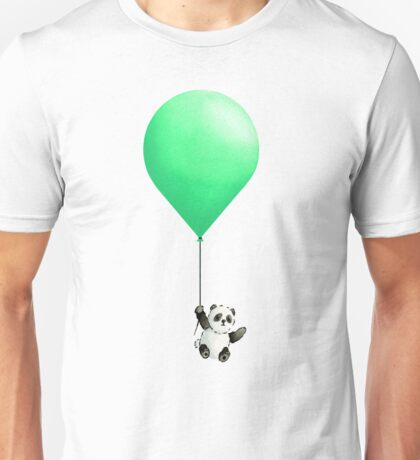 Panda Balloon  Unisex T-Shirt