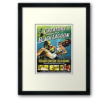 Vintage poster - Creature from the Black Lagoon Framed Print