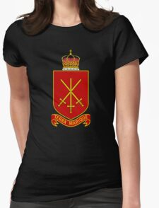 His Majesty's Armed Forces (Tonga) Womens Fitted T-Shirt