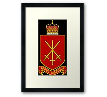 His Majesty's Armed Forces (Tonga) Framed Print