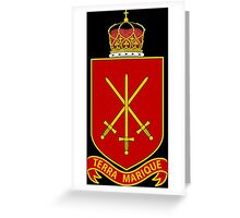 His Majesty's Armed Forces (Tonga) Greeting Card