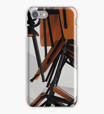 Abstract chairs iPhone Case/Skin