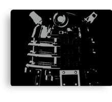 Dalek in the Dark Canvas Print