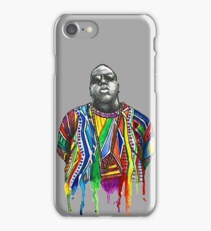 Biggie Smalls Watercolour  iPhone Case/Skin