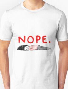 Nope girl Unisex T-Shirt