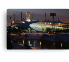 Munich: Olympic Stadium Canvas Print
