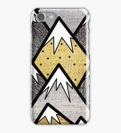 The Gold and Silver Hills iPhone Case/Skin