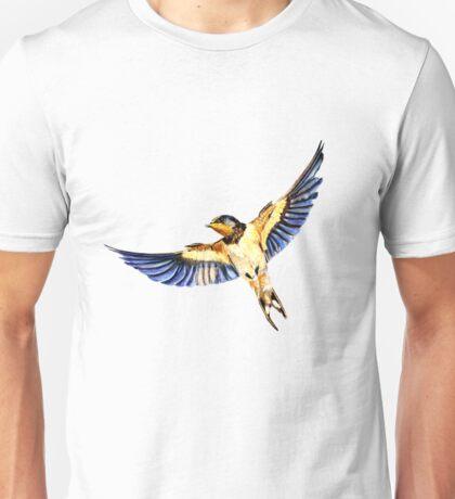 Swallow Flying Unisex T-Shirt