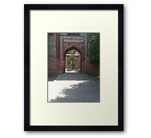 Welcome to My Home Framed Print