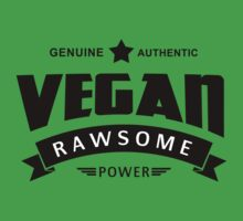 Vegan Rawsome Power by T-ShirtsGifts