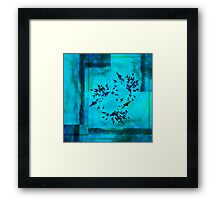 20160917 blue temptation no. 4 Framed Print