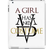 A Girl Has No Costume iPad Case/Skin