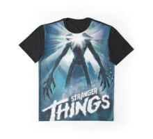 Stranger Things The Thing Mashup Graphic T-Shirt