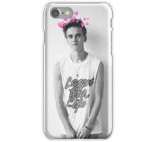 Joe Sugg/ThatcherJoe Tumblr Hearts iPhone Case/Skin