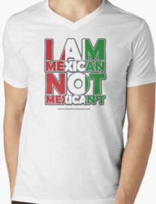 MexiCAN Mens V-Neck T-Shirt