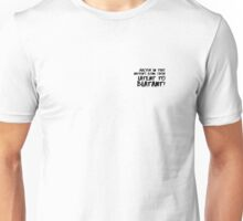 Racism in  nation's Unisex T-Shirt