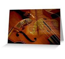Musical Composition Greeting Card