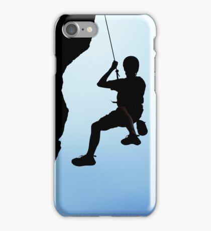 Rock climbing iPhone Case/Skin