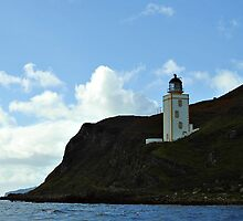 Holy Isle Outer Lighthouse Scotland. by youmeus