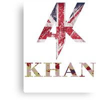AK Khan Canvas Print