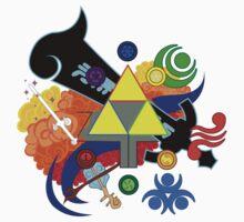 Legend of Zelda by haliaArtisan