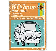 Mystery Manual Photographic Print