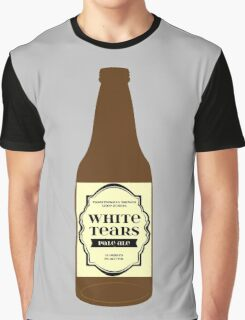 White Tears Pale Ale - Beer Bottle Graphic T-Shirt