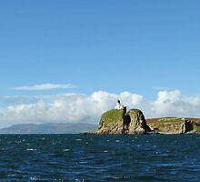 Sanda Isle Lighthouse Scotland by youmeus