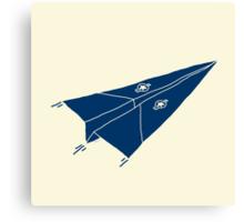 Paper Airplane 11 Canvas Print