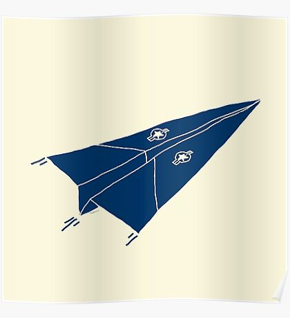 Paper Airplane 11 Poster
