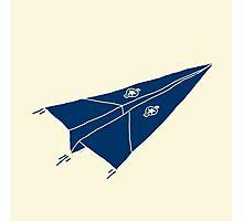 Paper Airplane 11 Photographic Print