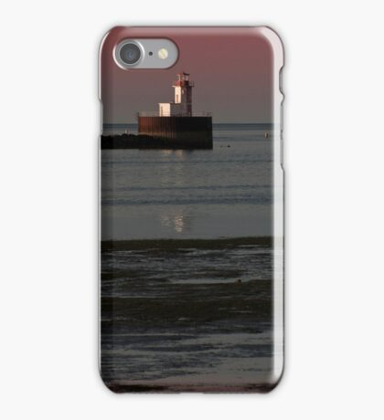 Bug Light, Bunker's Island Lighthouse iPhone Case/Skin
