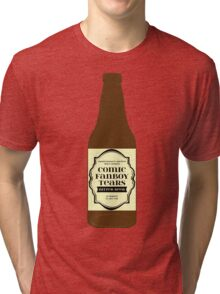 Comic Fanboy Tears Bitter Beer - Bottle Tri-blend T-Shirt