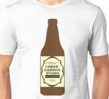 Comic Fanboy Tears Bitter Beer - Bottle Unisex T-Shirt