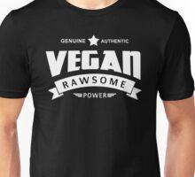 Vegan Rawsome Power Unisex T-Shirt