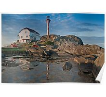 Cape Forchu Lighthouse, Yarmouth, NS Poster