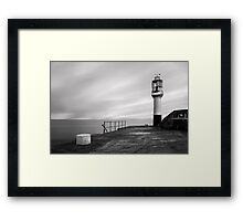 Penzance Harbour Lighthouse Framed Print