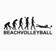 Evolution beachvolleyball Kids Tee