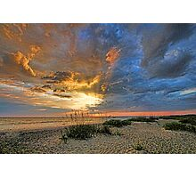Summer Sunset On The Gulf      Photographic Print