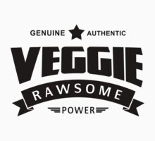 Veggie Rawsome Power by T-ShirtsGifts