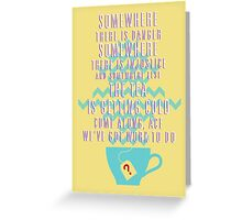Come Along, Ace - Doctor Who Greeting Card