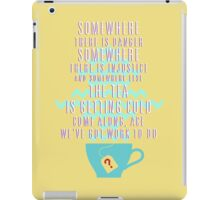 Come Along, Ace - Doctor Who iPad Case/Skin
