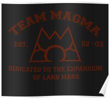 Team Magma Poster
