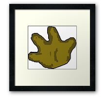 Left Handed Framed Print