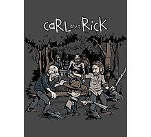 Carl and Rick Photographic Print